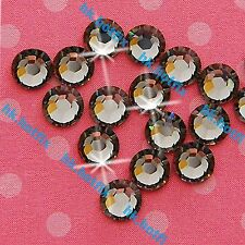 432 Black DIAMOND 3mm ss10 Iron on Hot fix Rhinestones Beads gems diamante 10ss