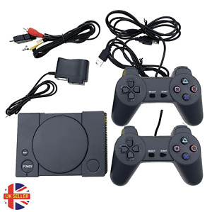 Games Console Mini Retro Playstation 600+ Built-In Games PS1 Style ELGETEC * UK