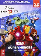 Game Guide/Book - Disney Infinity 2.0 Marvel Super Heroes - All Platforms