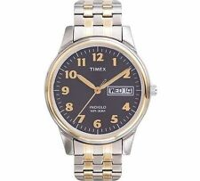 Timex T2N093, Easy Reader, Men's, X-Long 2-Tone Expansion Watch