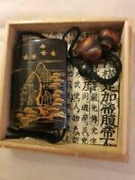 Japanese edo inro netsuki