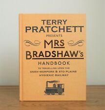 Mrs Bradshaw's Handbook by Terry Pratchett (2014 Yellow Cover Limited Ed hb) New
