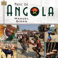 DIOGO MANUEL - Music of angola NUEVO CD
