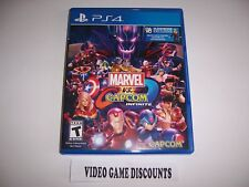 Original Box Case Replacement Sony PlayStation 4 PS4 MARVEL vs CAPCOM INFINITE