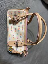XOXO Barrel/Small Duffel Bag: 90s/Early 2000s Colorful Purse or Small Travel Bag