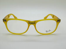 NEW Authentic Ray Ban RB 4223-V 5519 Matte Yellow 55mm RX Folding Eyeglasses