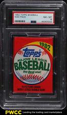1982 Topps Baseball Wax Pack PSA 8 NM-MT