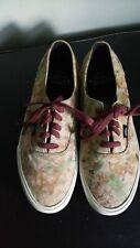 Men's Vans California Floral Print Skate Shoes-Size 9.5 US