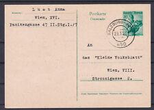 Portorichtige Trachten Ganzsache mit Bahnpoststempel Salzburg-Graz gelaufen 1958