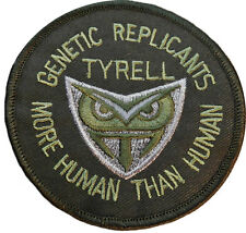 BLADE RUNNER Genetic Replicants TRYELL Iron-on/Sew-on Embroidered PATCH