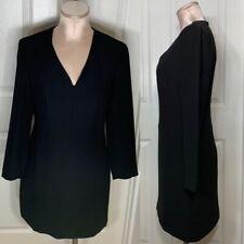 & Other Stories Mini Black Long Sleeve Sheath Dress Sz S