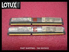 IBM Hynix 16GB (2x8GB) 2Rx4 PC3L-10600R VLP DIMMS 46C0580 HMT41GV7BMR4A RAM MEM