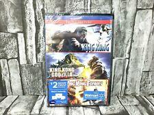 King Kong Triple Feature King Kong King Kong vs Godzilla King Kong Escapes Dvd