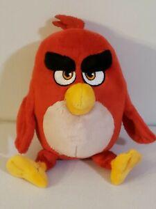 "Angry Birds Movie Red Plush 8"" Stuffed Animal Toy Doll Rovio Commonwealth"