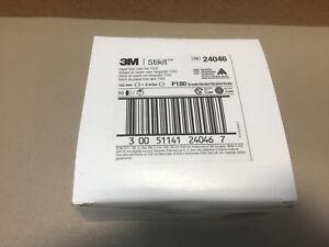 "3M Stikit 6"" Paper Disc With Tab 735U P180 Grade QTY 50 Disc"