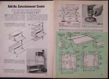 Entertainment Center How-To build PLANS Modular Ikea Style