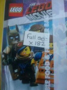 THE LEGO MOVIE 2, FULL SET OF STICKERS X182