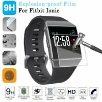 New 4Pcs Anti-Scratch Tempered Glass Protector Film Cover For Fitbit Ionic Watch