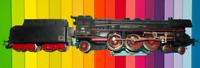 Ancienne maquette Ferroviaire jouet Locomotive Vapeur  Märklin type DB 01097