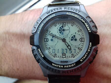 Casio VINTAGE COLLECTION AWX-10B-8EV TWINCEPT NOS FLOATING LCD WATCH MONTRE RARE