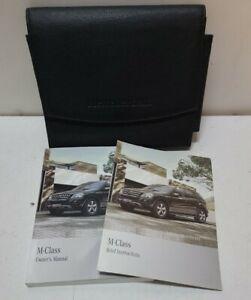 2011 11 Mercedes-Benz M-Class Owner's Manual OEM