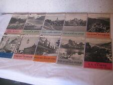Lot de 10 Livres CONNAISSEZ VOUS LA FRANCE collection publiée par SHELL
