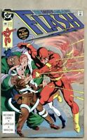 Flash #48-1991 vf- 7.5 Wally West / Chunk / Elongated Man DC Comics