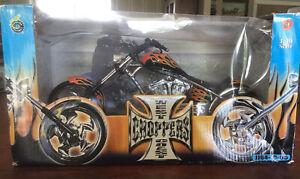 West Coast Choppers Jesse James Sturgis Special 1:10 JJ04-10-05 Motorcycle Flame