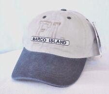 7cb8fd67db361  MARCO ISLAND FLORIDA  Boating Fishing Sailing Ball cap hat longer bill  OURAY