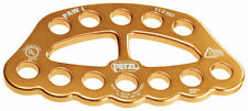 Paw L Gold Large Rigging Anchor Rig Plate Petzl
