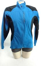 Cannondale Womens Size Small Mountain Bike Wind Jacket 3 Back Pockets Blue