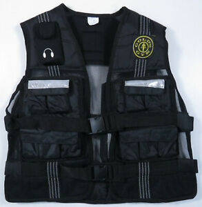 Golds Gym Weighted Workout Exercise Adjustable Vest Jacket Holds 20lbs