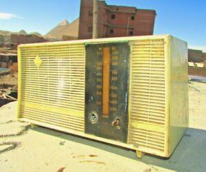 "Vintage Radio, 1959's model Telemisr - "" راديو تليمصر "" - RARE RADIO TRANSISTOR"