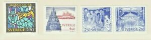 Schweden 1988/90/91/97, 1492, 1608, 1672-73, 1982-83**, verschiedene Motive