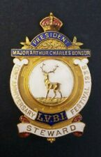 More details for licensed victuallers festival 1936 stewards badge watney combe reid brewery
