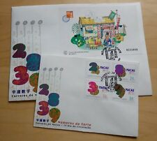 1997 Macau Lucky Numbers Stamp + Souvenir Sheet S/S FDC 澳门幸运数字邮票+小型张首日封