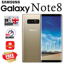 Samsung Galaxy Note 8 64GB 6GB UNLOCKED Android Smartphone in Maple Gold