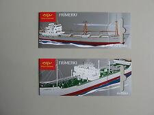 Verkeer/schepen, 2 boekjes/MH IJSLAND, 4x80 en 4x105KR, 2007, postfris/MNH