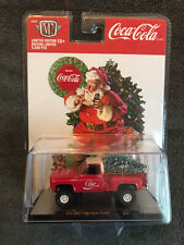 🟢M2 MACHINES CHRISTMAS COCA COLA 1976  GMC HIGH SIERRA 15 4 x4 IN STOCK
