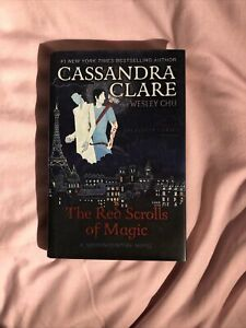 The Red Scrolls of Magic Cassandra Clare Hardback