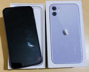 Apple iPhone 11 - 64GB - Purple (Unlocked) A2221 (CDMA + GSM)