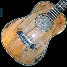Oscar Schmidt 15-OU78T Custom 8 String Tenor Ukulele Select Spalted Mango Veneer