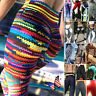 Sexy Women's YOGA Gym Sports Pants Floral Hip Push Up Leggings Fitness Workout