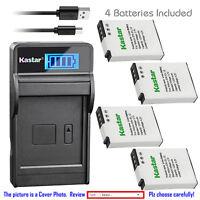 Kastar Battery LCD Charger for Nikon EN-EL12 & Nikon Coolpix S9400 Coolpix S9500