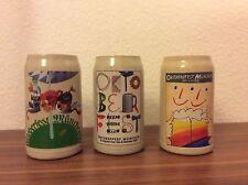 Oktoberfest 1990 1991 1992 Official Rastal Beer Stein Mugs from Munich Germany