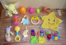Lot de 14 jouets d'eveil 1er age