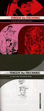 Jaime Hernandez SIGNED AUTOGRAPHED Maggie The Mechanic + SKETCH SC 1st Ed/1st