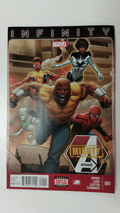 MIGHTY AVENGERS #1 1st Printing - Monica Rambeau - Spectrum / 2013 Marvel Comics