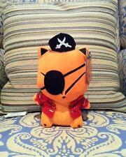 PIRATE FLOXY FOX DESIGNER PLUSH FIGURE BY PATCH TOGETHER