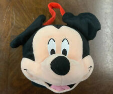 Rare Disney Mickey Mouse Stuffed Plush Easter Basket Or Trick Or Treat Halloween